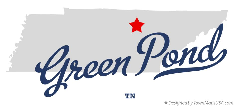 Map of Green Pond Tennessee TN