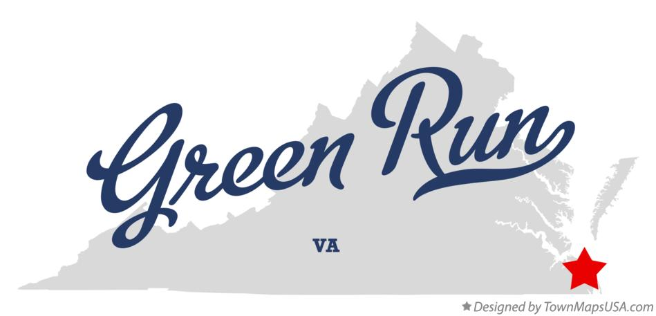Map of Green Run Virginia VA