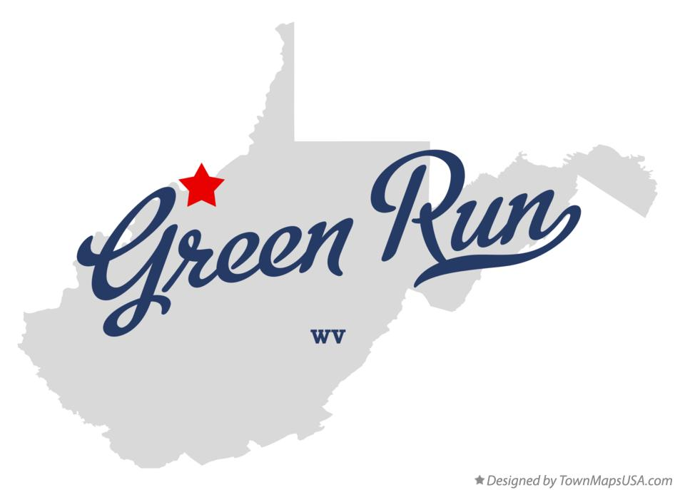 Map of Green Run West Virginia WV