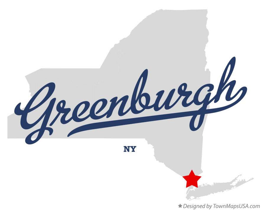 Map of Greenburgh New York NY