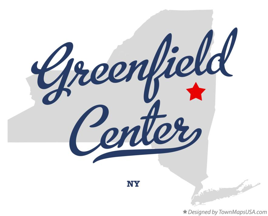 Map of Greenfield Center New York NY