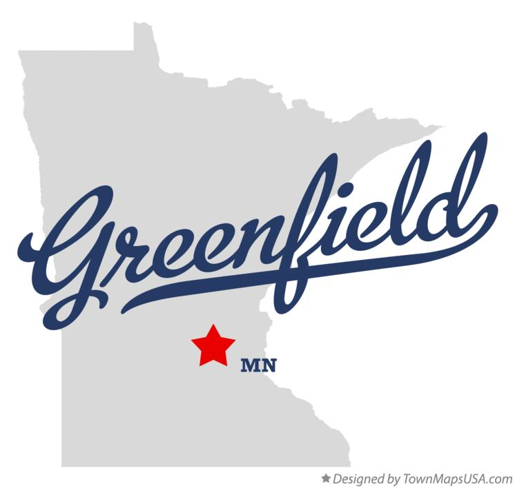 Map of Greenfield Minnesota MN