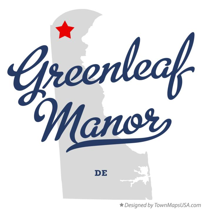 Map of Greenleaf Manor Delaware DE