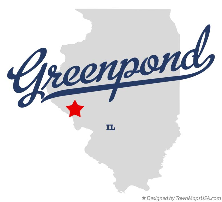 Map of Greenpond Illinois IL