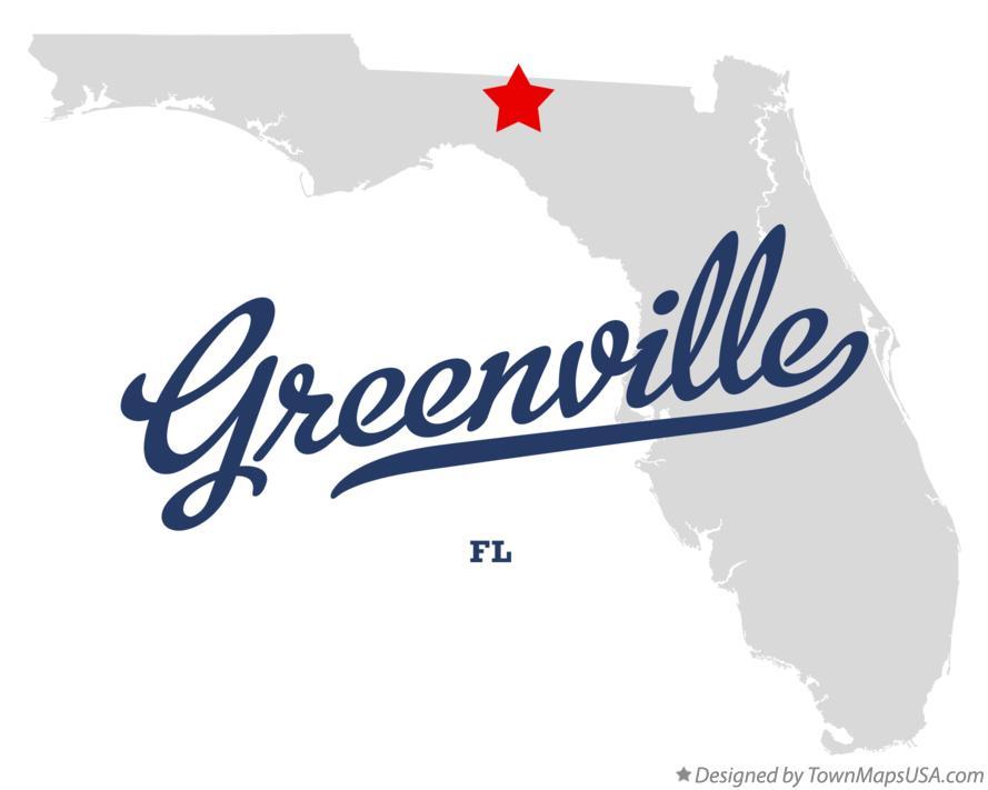 Greenville Florida Map.Map Of Greenville Fl Florida