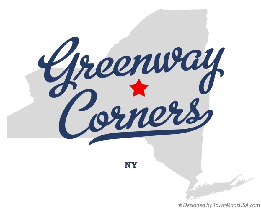 Map of Greenway Corners New York NY