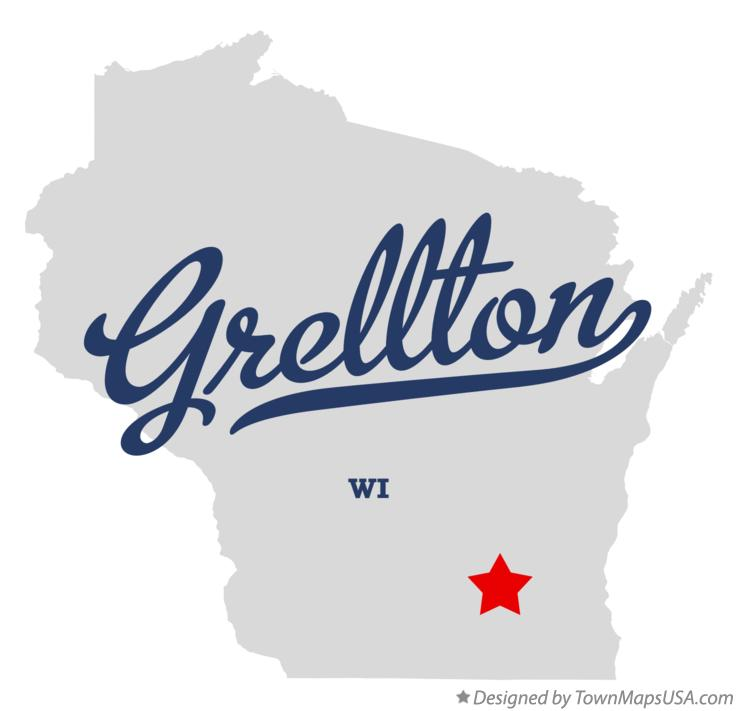 Map of Grellton Wisconsin WI