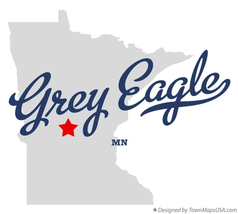 Map of Grey Eagle Minnesota MN