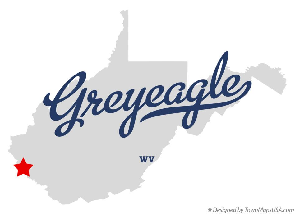Map of Greyeagle West Virginia WV