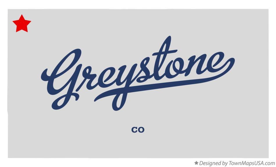 Map of Greystone Colorado CO
