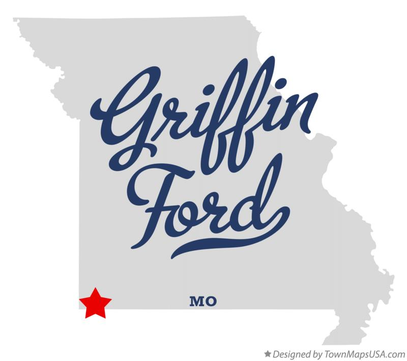 Map of Griffin Ford Missouri MO