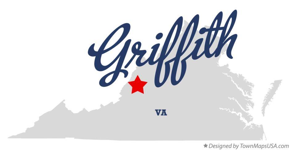 Map of Griffith Virginia VA
