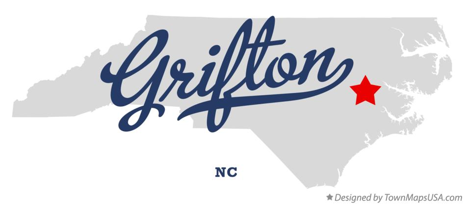 Map of Grifton North Carolina NC