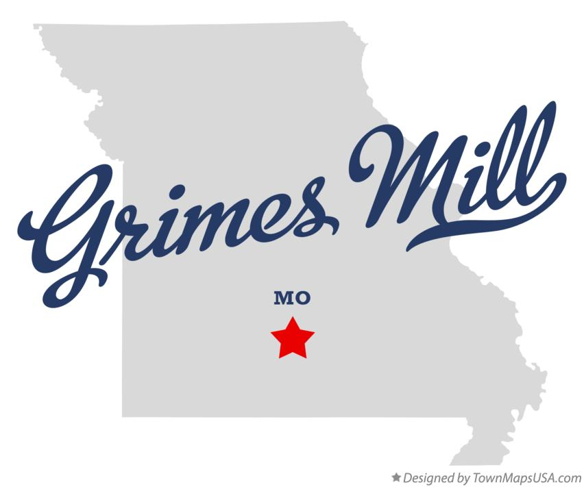 Map of Grimes Mill Missouri MO
