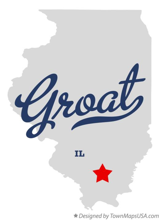 Map of Groat Illinois IL