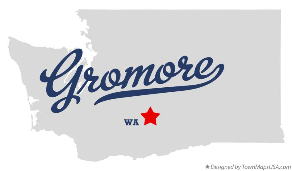 Map of Gromore Washington WA