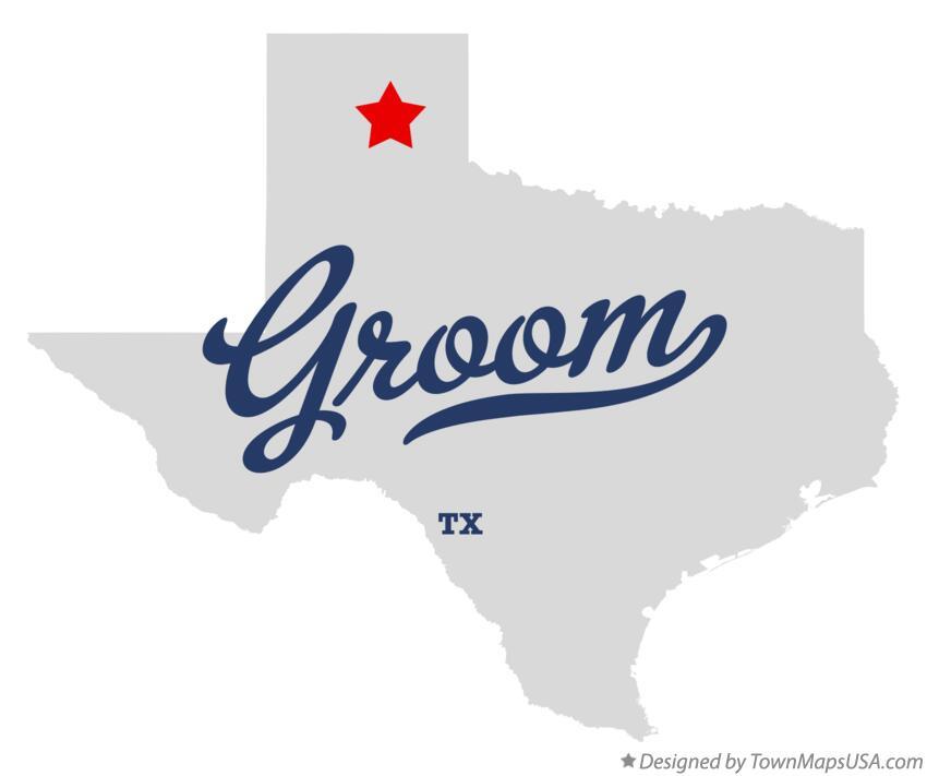 Groom Texas Map Map of Groom, TX, Texas