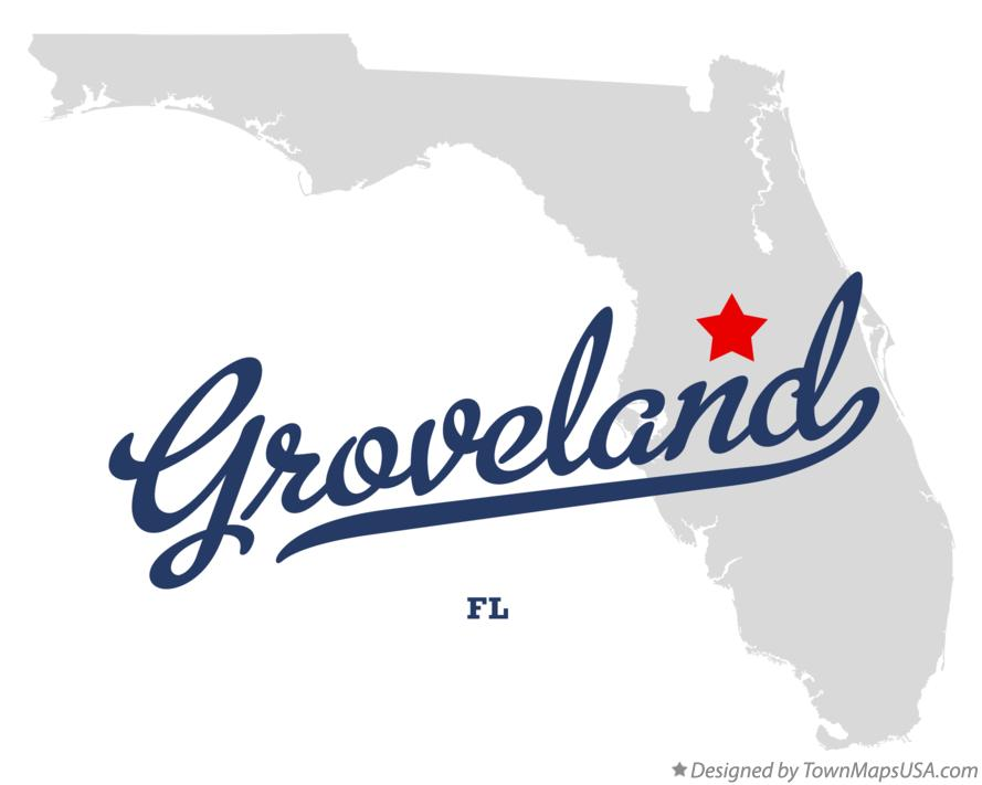 Groveland Florida Map.Map Of Groveland Fl Florida
