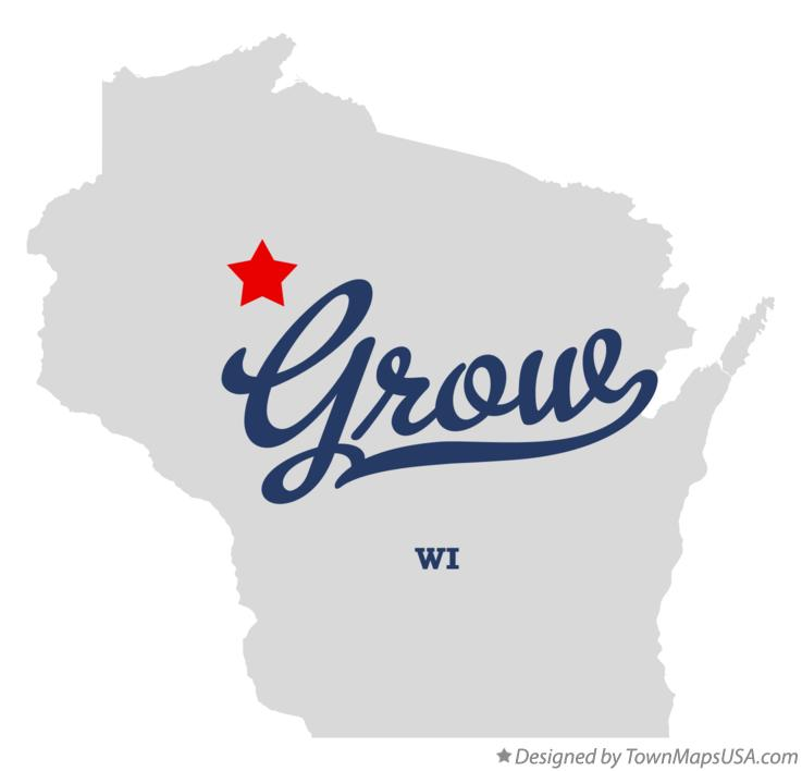 Map of Grow Wisconsin WI