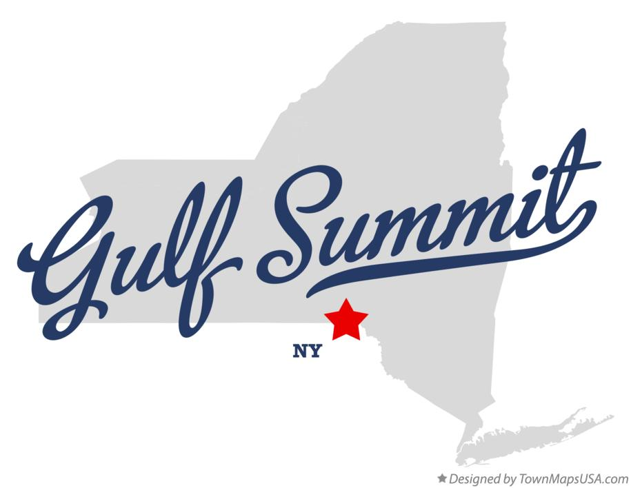 Map of Gulf Summit New York NY