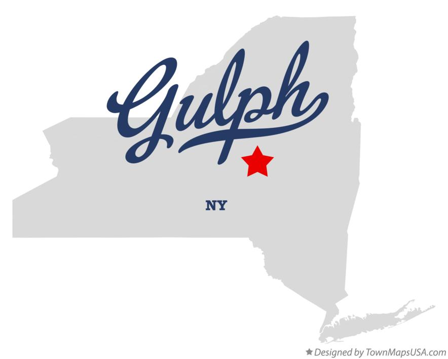 Map of Gulph New York NY