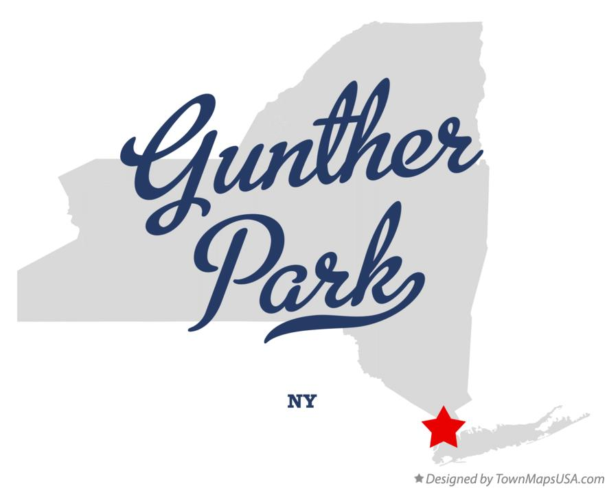 Map of Gunther Park New York NY