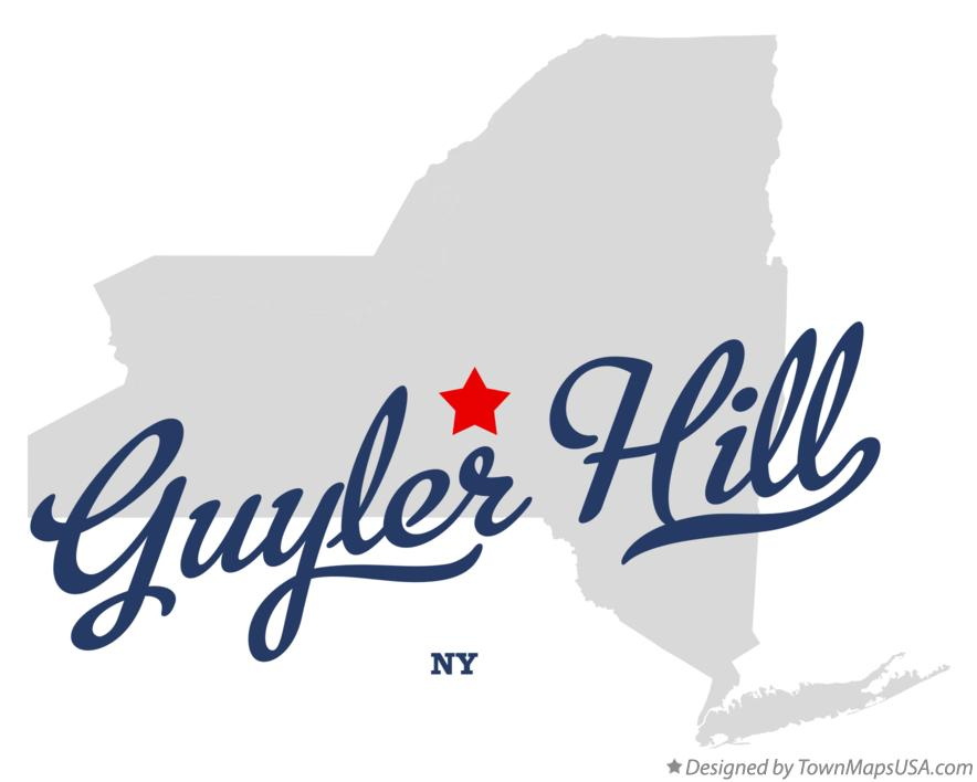 Map of Guyler Hill New York NY