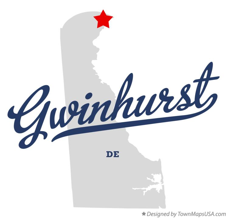 Map of Gwinhurst Delaware DE