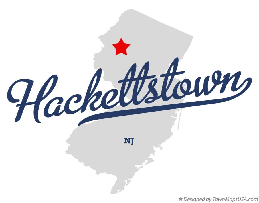Map Of Hackettstown Nj New Jersey: Map Of New Jersey Hackettstown At Usa Maps