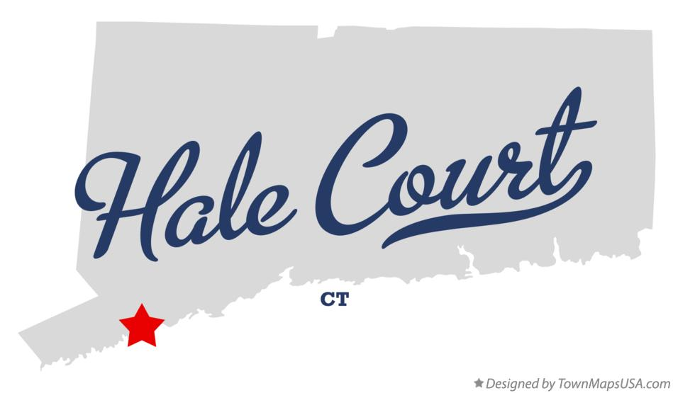 Map of Hale Court Connecticut CT