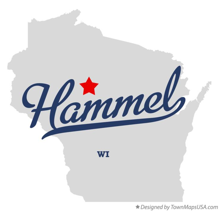 Map of Hammel Wisconsin WI