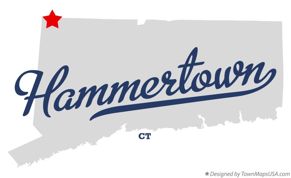 Map of Hammertown Connecticut CT