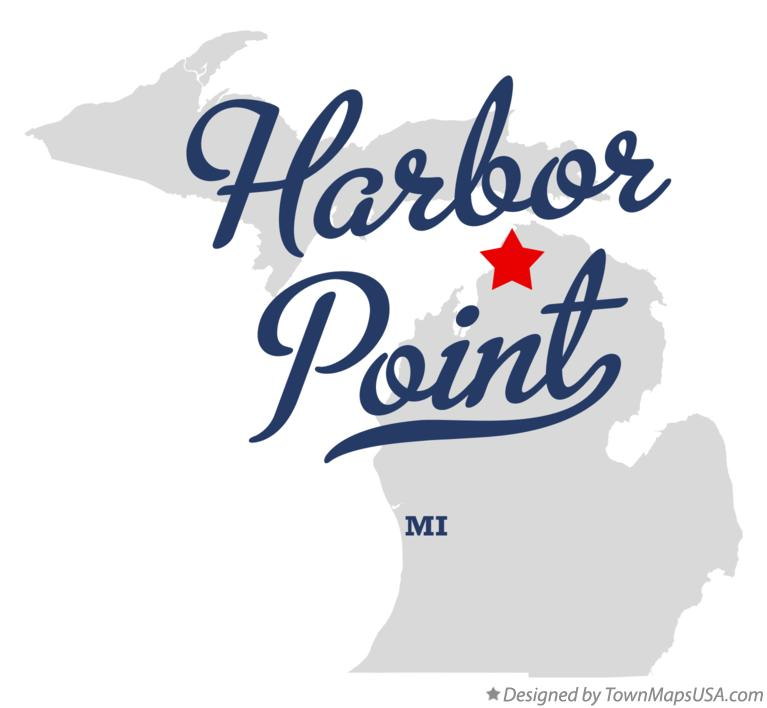 Map of Harbor Point Michigan MI