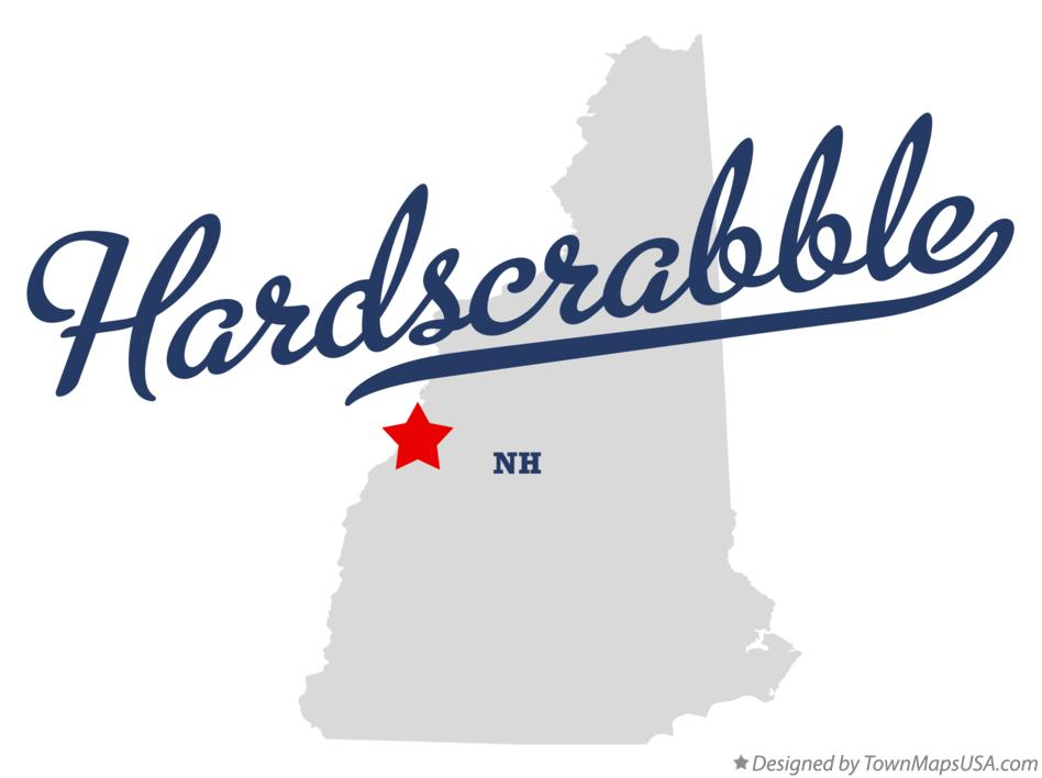 Map of Hardscrabble New Hampshire NH