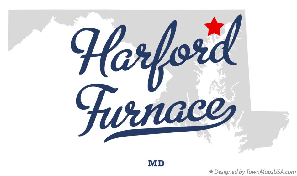Map of Harford Furnace Maryland MD