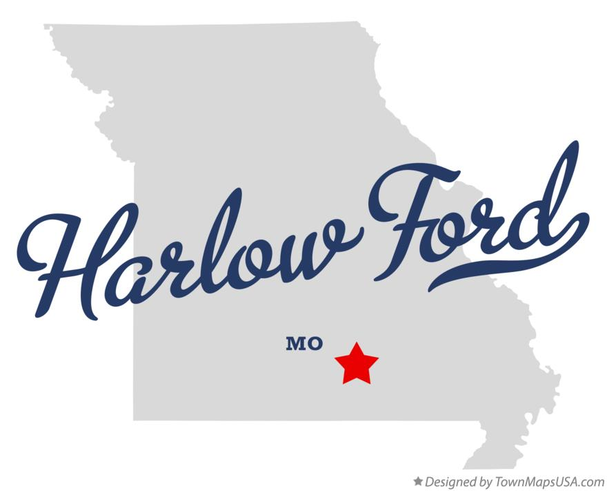 Map of Harlow Ford Missouri MO