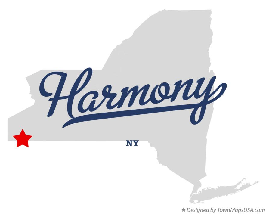 Map of Harmony New York NY