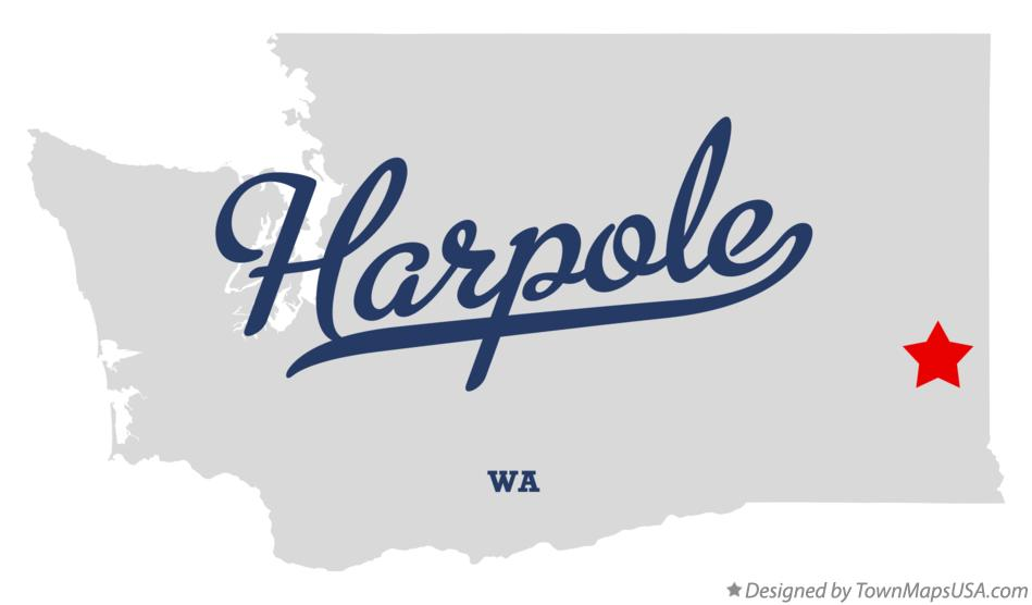 Map of Harpole Washington WA