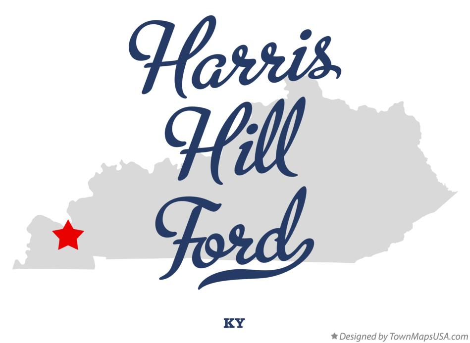 Map of Harris Hill Ford Kentucky KY