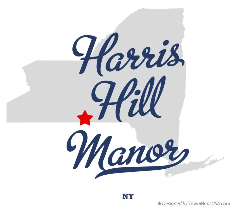 Map of Harris Hill Manor New York NY