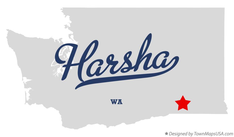 Map of Harsha Washington WA