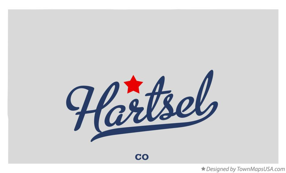 Map of Hartsel Colorado CO