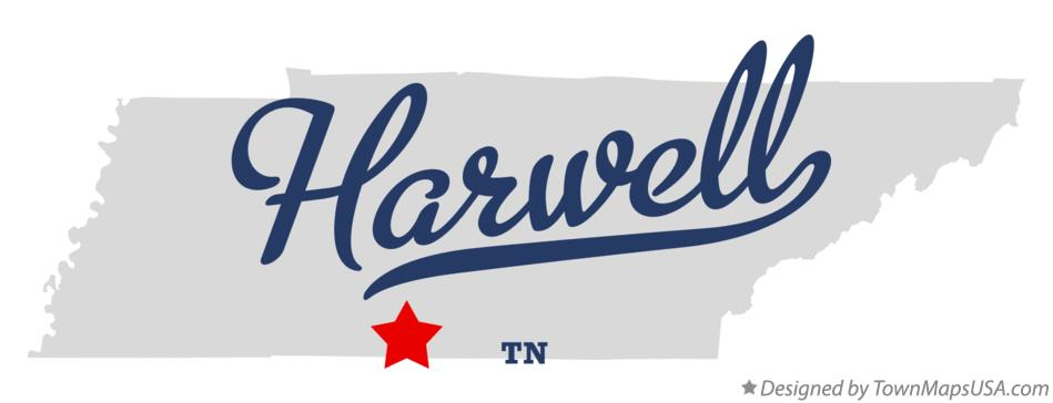 Map of Harwell Tennessee TN
