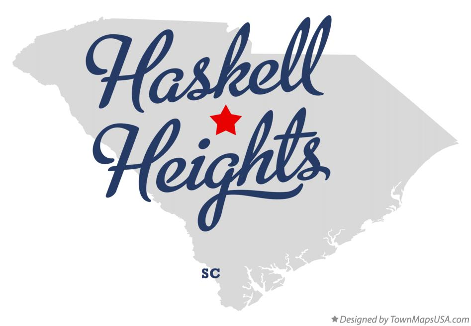 Map of Haskell Heights South Carolina SC