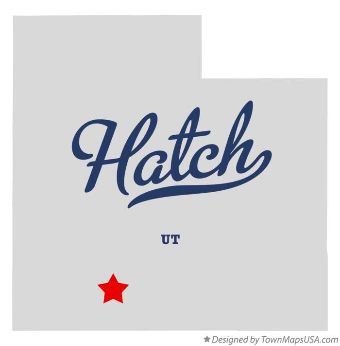 Map of Hatch Utah UT