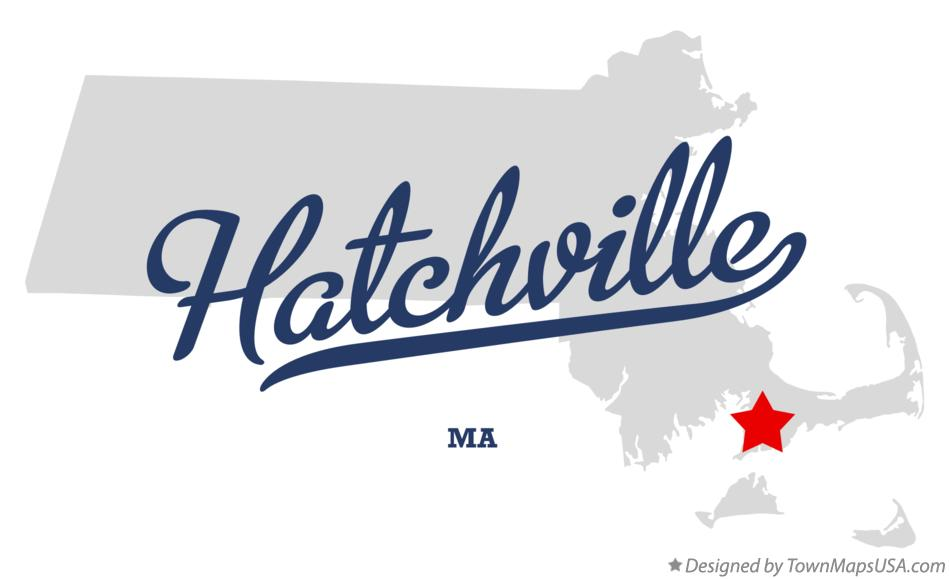 Map of Hatchville Massachusetts MA
