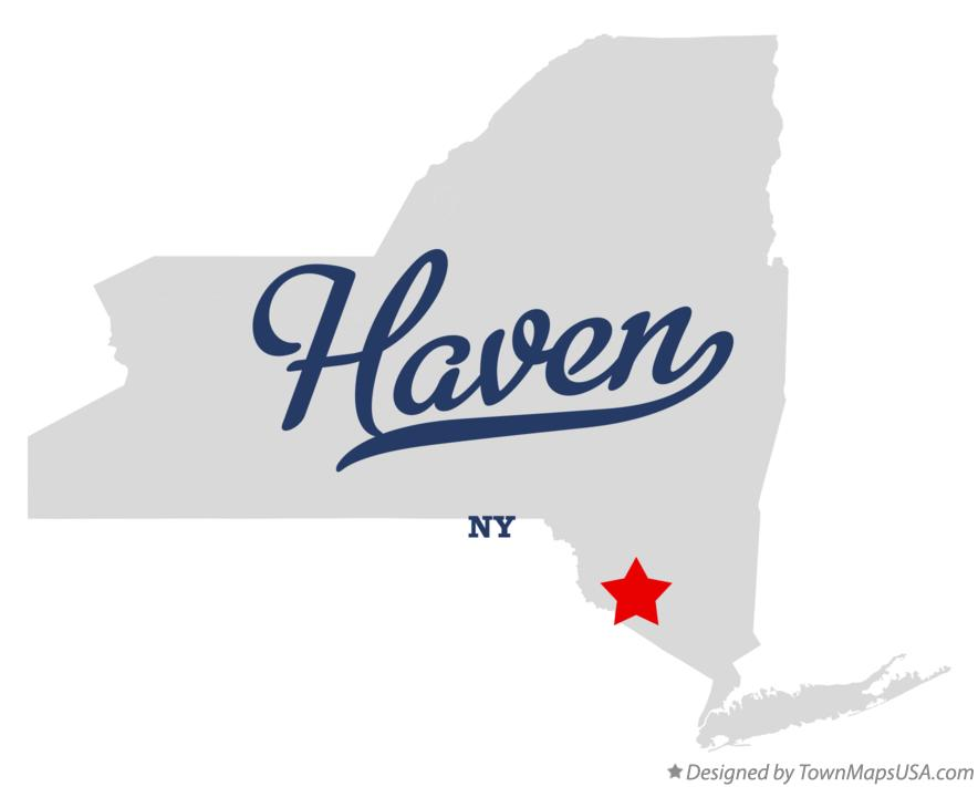 Map of Haven New York NY