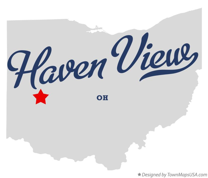 Map of Haven View Ohio OH
