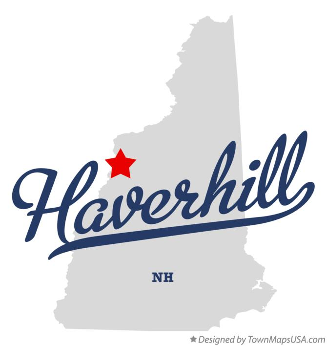 Map of Haverhill New Hampshire NH