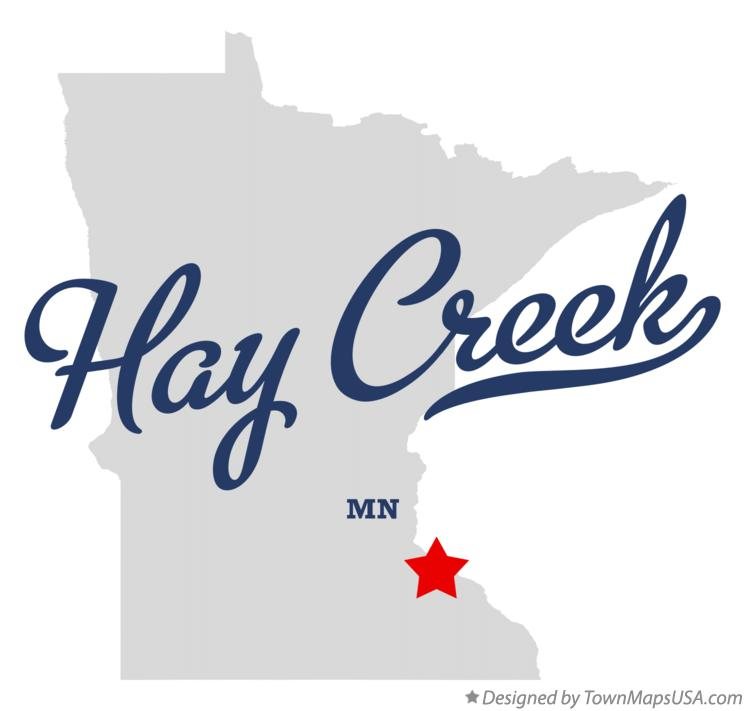 Map of Hay Creek Minnesota MN